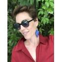 Florencia Bug earrings, pink