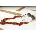 Valencia chain cord, tortoise