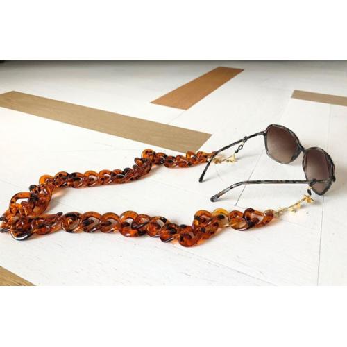 Collar gafas Valencia, tortuga