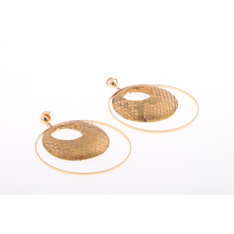 Cristina Python,  earrings