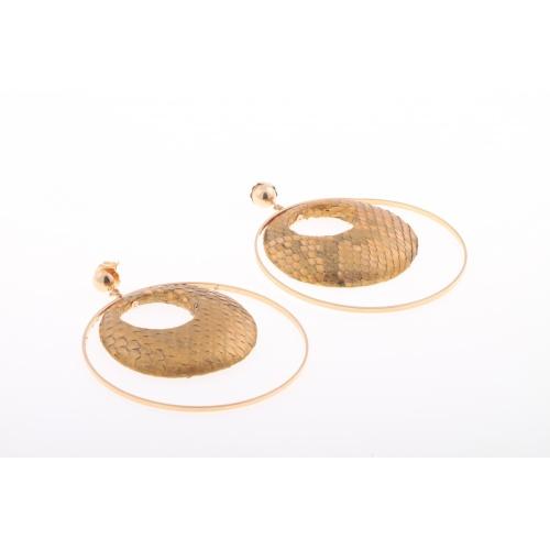 Cristina Python, earrings