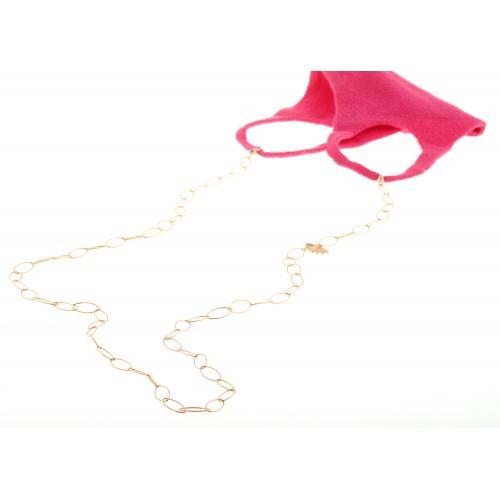 Norma mask jewel chain