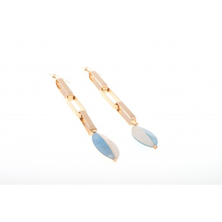 Daniela blue, earrings