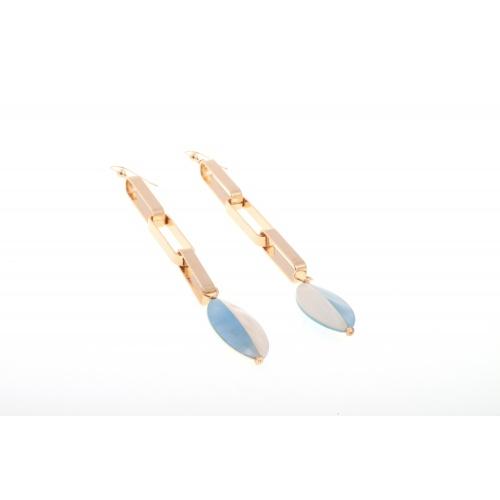 Daniela blue, earrings