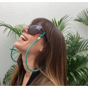sunglass jewel cord, snake summer