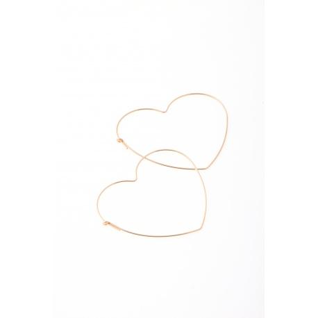 Heart, earrings