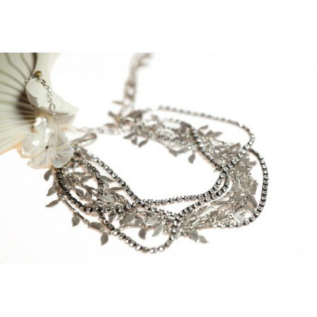 OPERA strass silver