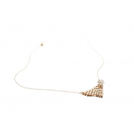 Vogue Chicago gold, necklace