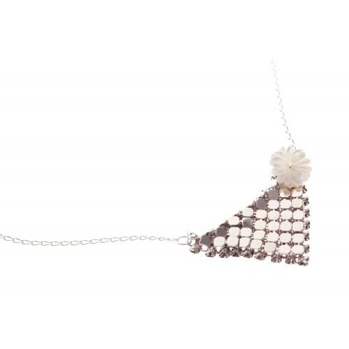 Vogue Chicago silver, necklace