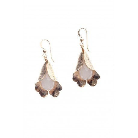 LIRIO white, earrings