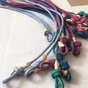 Sunglass Jewel Cord, blue suede