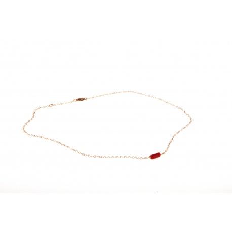 Vogue Coral, necklace