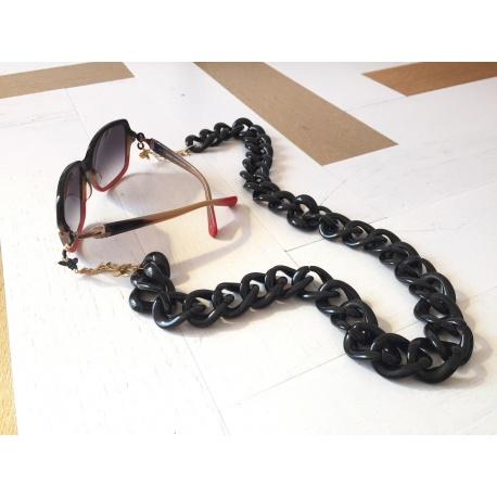 Collar Gafas Valencia, negro
