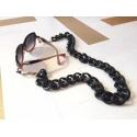 Valencia chain cord, black