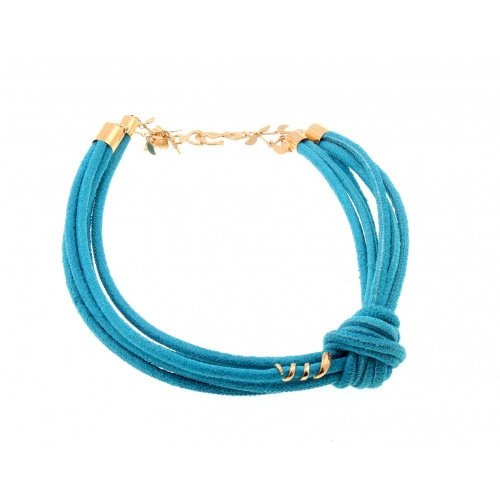 The knot, blue